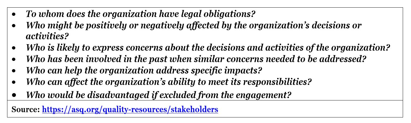 Stakeholder Register 6