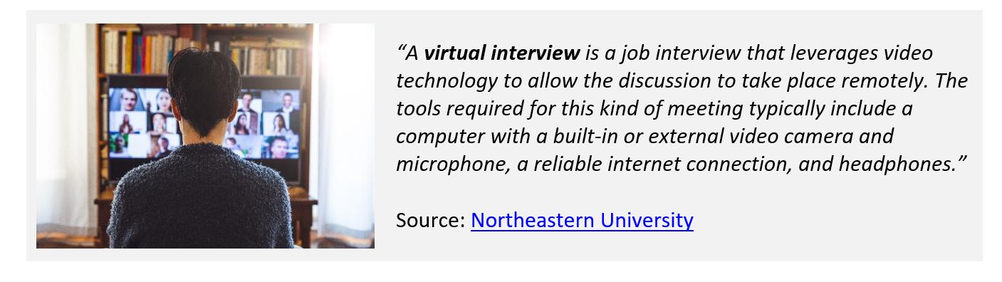 Virtual Interviewing 1